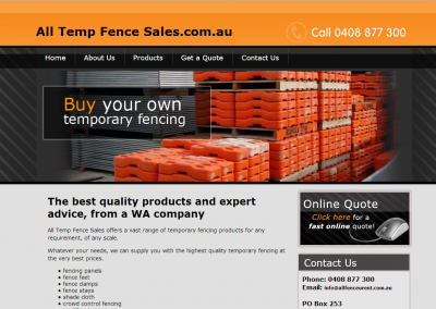 All Temp Fence Sales