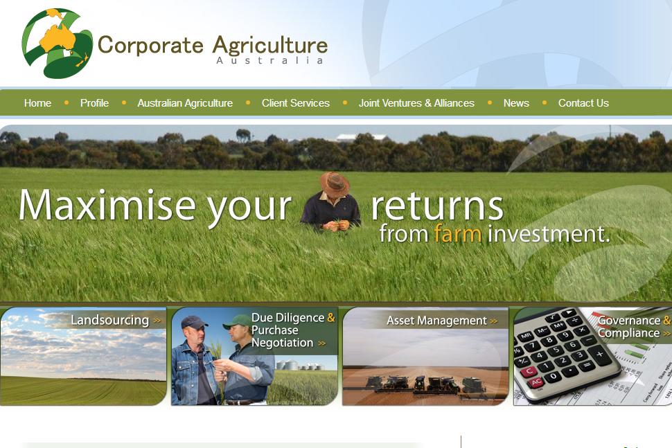 Corporate Agriculture Australia