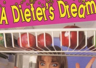 'A Dieter's Dream' Greetings Card