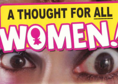 'A Thought For All Women' Greetings Card